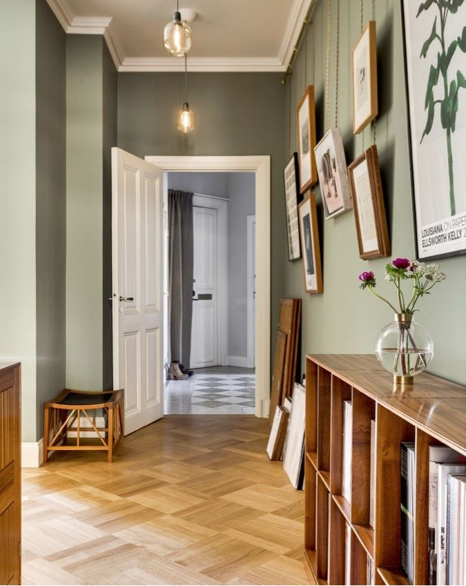 Vima interiorismo de que color pinto mis paredes en for Color gris verdoso paredes
